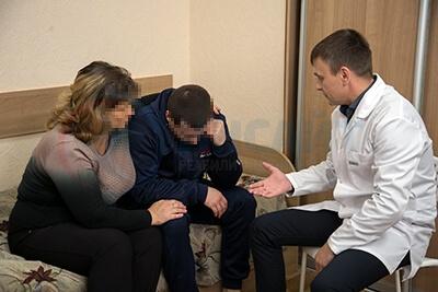 Консультация врача наркологической клиники Инсайт